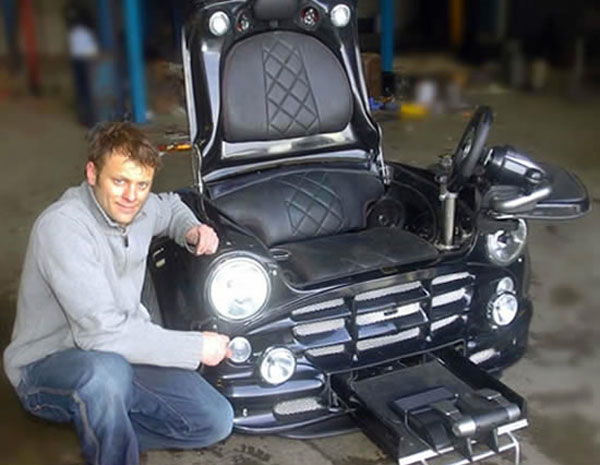 awesome-customized-Mini-Cooper-Gaming-Chair