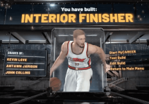 The Best Power Forward Interior Finisher Build in NBA 2K21