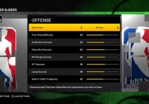 How to Set Realistic Game Sliders for NBA 2K21