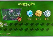 How to Unlock Flashback Tapes in Crash Bandicoot 4