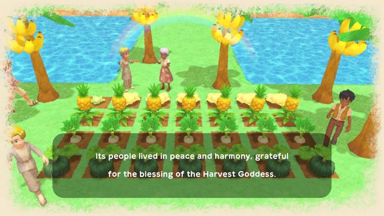 Harvest Moon Crops